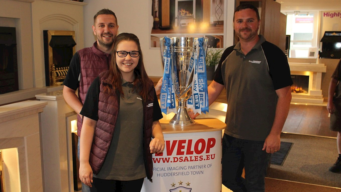 easy fireplace continues its partnership with huddersfield town