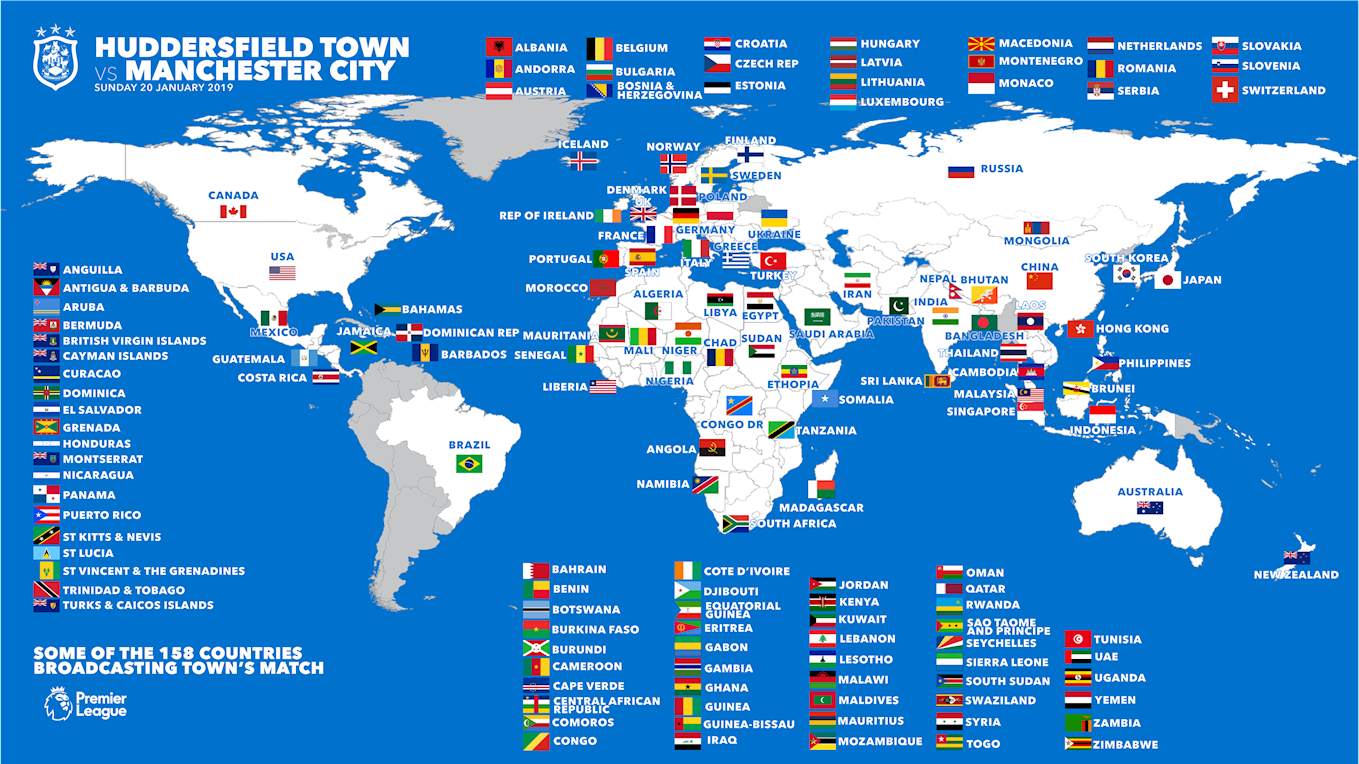 WATCH TOWN vs MANCHESTER CITY AROUND THE WORLD - News