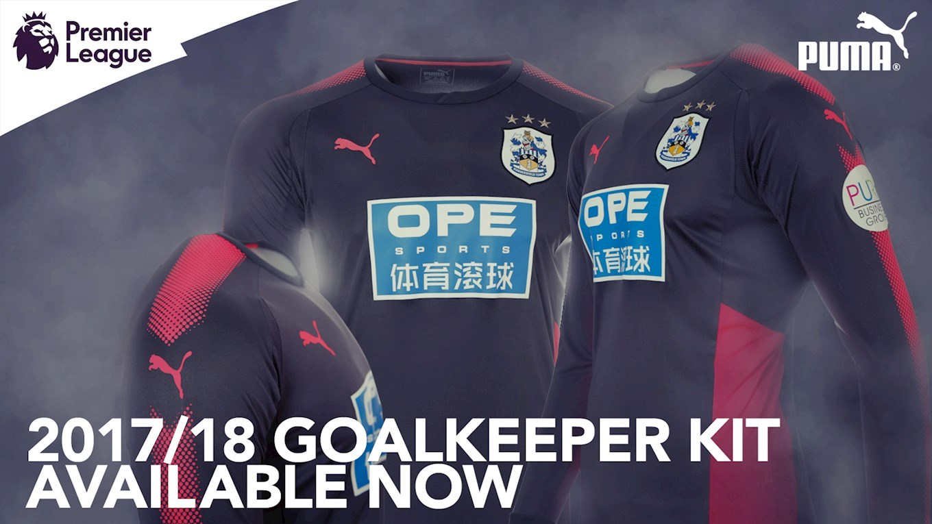 sports shoes 31c18 6c582 2017/18 GOALKEEPER KIT ON SALE NOW - News - Huddersfield Town