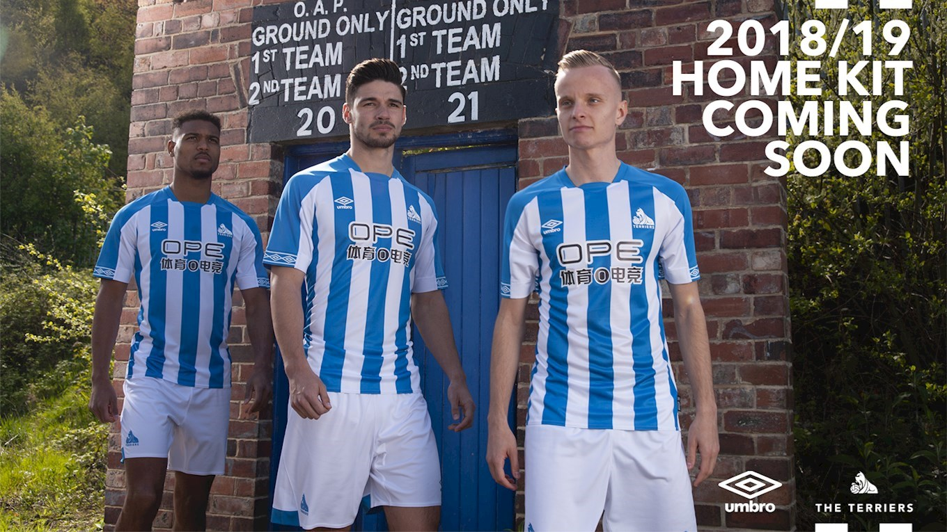 63fb11dbd 2018/19 HOME KIT: ON SALE NOW! - News - Huddersfield Town