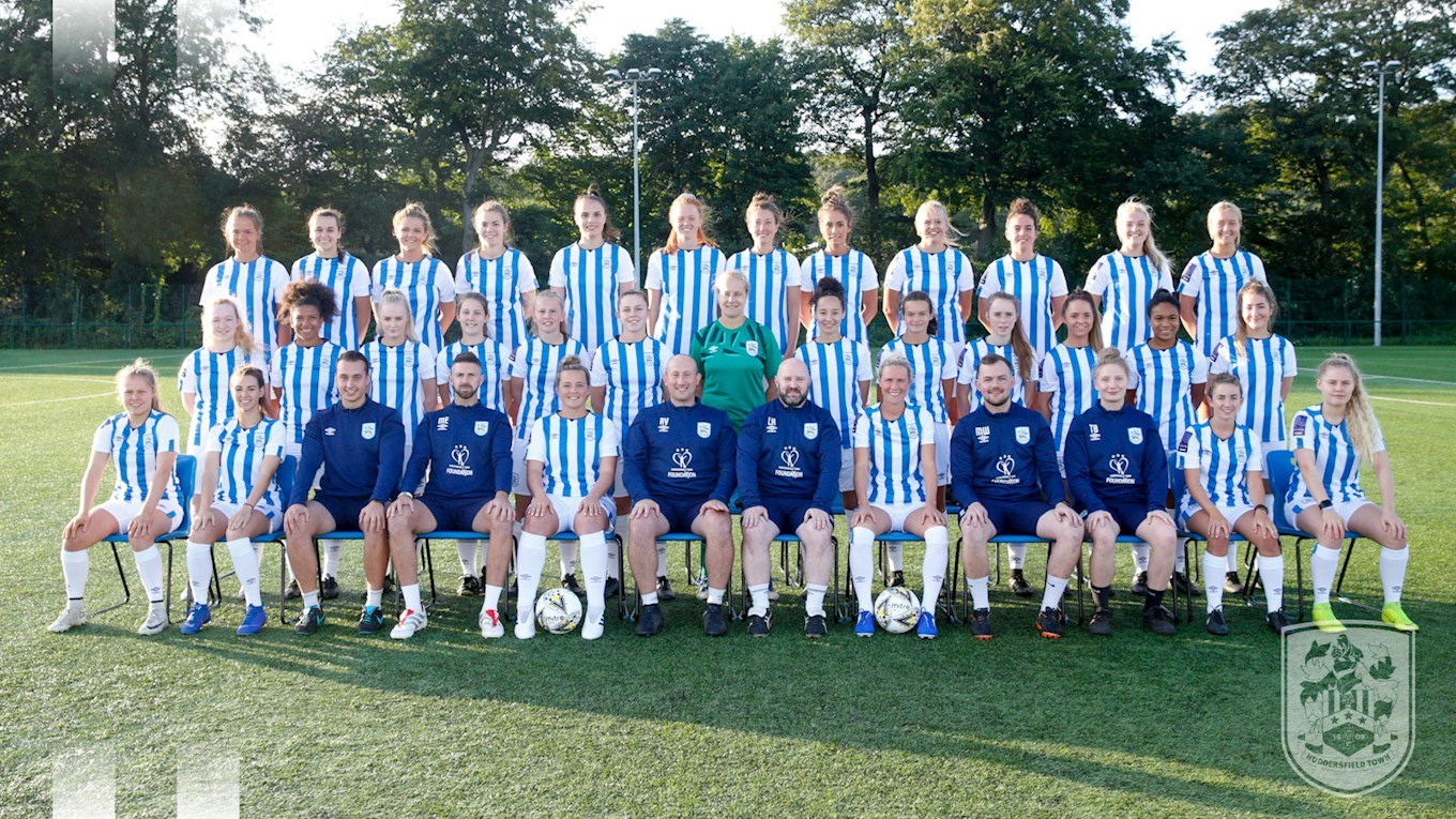 COME AND SUPPORT HUDDERSFIELD TOWN'S WOMEN